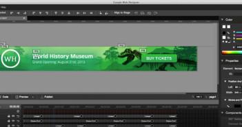 Google Web Designer: crea banner animado