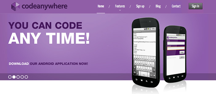 Editor HTML code anywhere