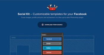 Plugin Photoshop Social Kit