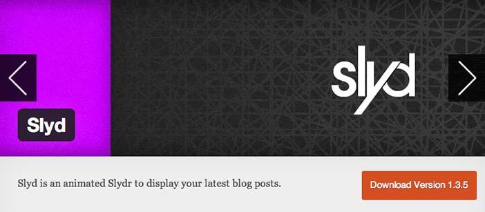 Plugin Wordpress Slyd