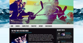 Temas Wordpress Hockey