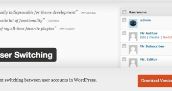 Plugin Wordpress User Switching