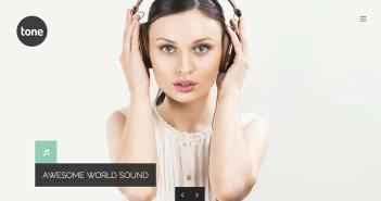 Temas Wordpress para sitios web dedicados a la música: Nilltone