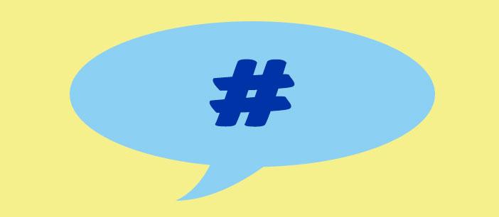 Como usar hashtag adecuadamente en redes sociales