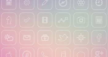 Interfaz de Usuario iOS 7 Icons Redesign