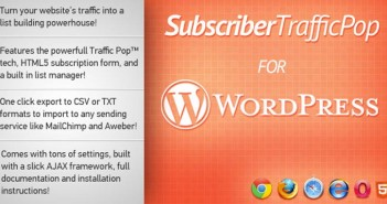 Plugin Wordpress Subscriber TrafficPop