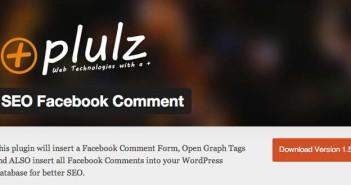 Plugin Wordpress SEO Facebook Comment