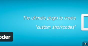 Plugin Wordpress ShortCoder