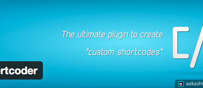 Plugin Wordpress ShortCoder