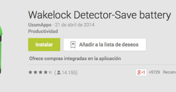 Programas para Android para solucionar lentitud: Wakelock Detector