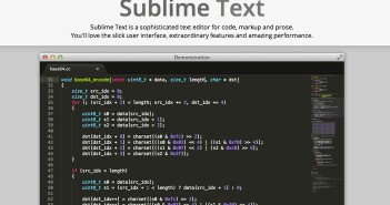 Demo de Sublime Text Editor