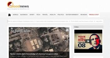 Temas Wordpress para sitios de noticias Goodn news