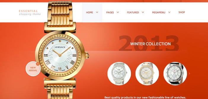 Temas Wordpress para sitios de comercio electrónico: Essential