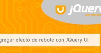 Agregar efecto de rebote con JQuery UI