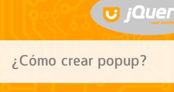 Cómo crear popup con JQuery UI