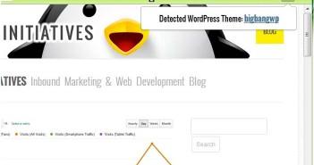 Extensiones Google Chrome para Wordpress: Theme Sniffer