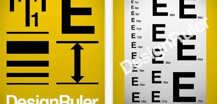 iOS app para diseño de logos: Design Ruler