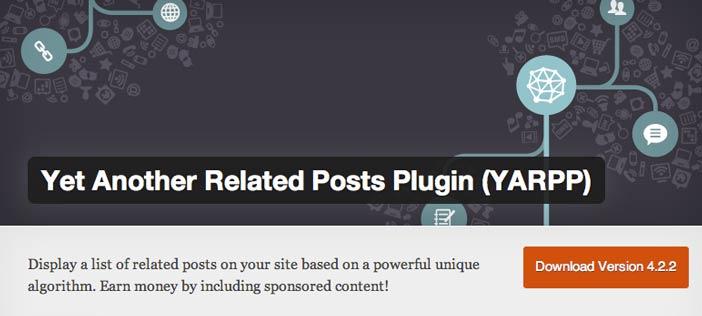 Plugin Wordpress para añadir entradas relacionadas: Yet Another Related Posts Plugin