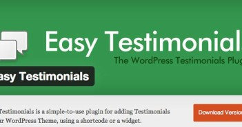 Plugin Wordpress para añadir testimonios: Easy Testimonials