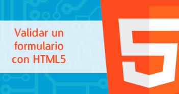 Validar un formulario con HTML5