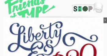 Galerías de diseño tipografico: Friends of Type