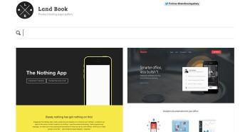 Galería con las mejores paginas web: Land Book