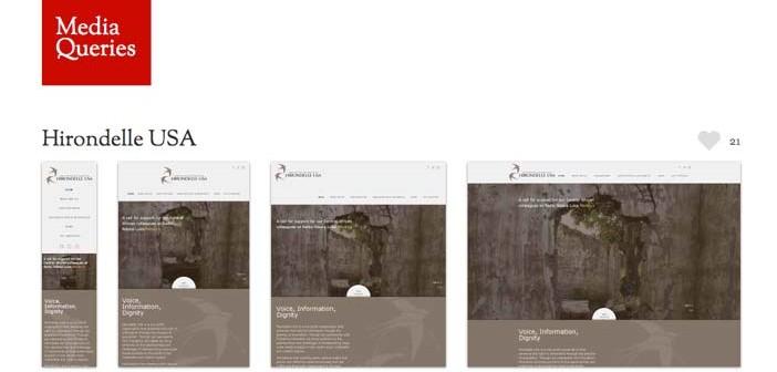 Galería con las mejores paginas web adaptativas: Media Queries