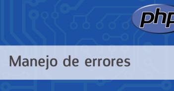Manejo de errores en PHP