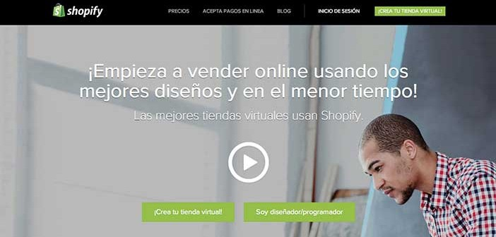 Características de plataforma de ecomerce Shopify