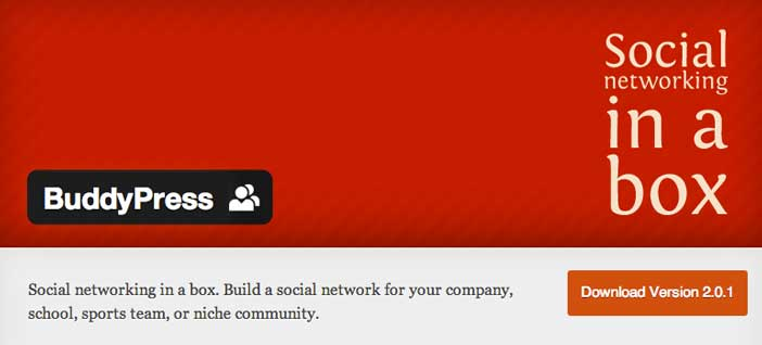 Plugin Wordpress para crear red social: Buddypress
