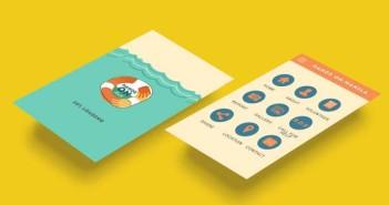 Crear app: Selección de colores de Hands On
