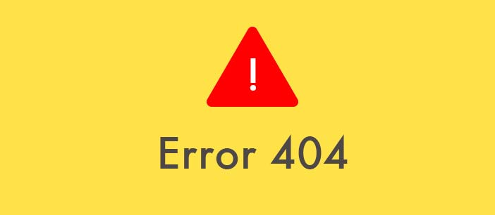 Diseñar página http error 404