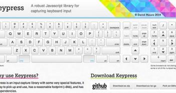 Librería JavaScript plugin para implementar atajos de teclado: Keypress