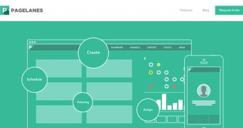 Las mejores paginas web con uso de color verde: PageLanes