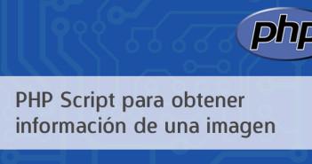 PHP Script para obtener información de una imagen