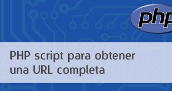 PHP script para obtener una URL completa