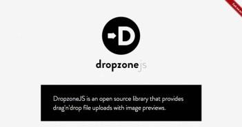 Plugin JQuery para añadir característica de arrastre: Dropzonejs