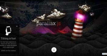 Plugin JQuery para añadir efecto parallax: Parallax.js