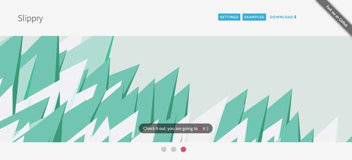 Plugin JQuery para mejorar elementos HTML: Slippry