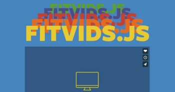 Plugin JQuery para video: Fit Vid.js