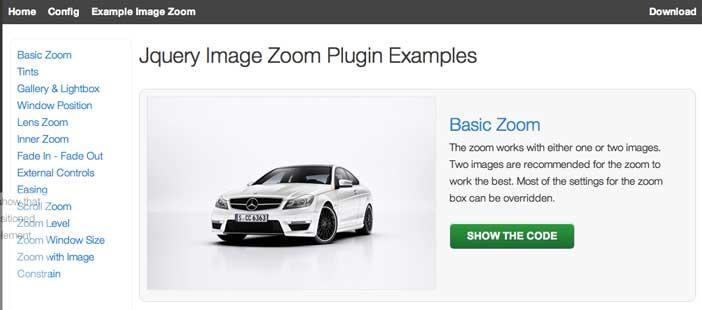 Plugin JQuery para añadir zoom: Elevate Zoom