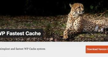 Plugin Wordpress para almacenamiento de memoria caché: WP Fastest Cache