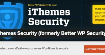 Plugin Wordpress para reforzar seguridad: iThemes Security