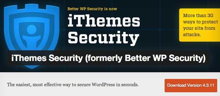 Plugin Wordpress para reforzar seguridad: iThemes Security