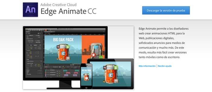SVG Editor para crear gráficos vectoriales: Adobe Edge