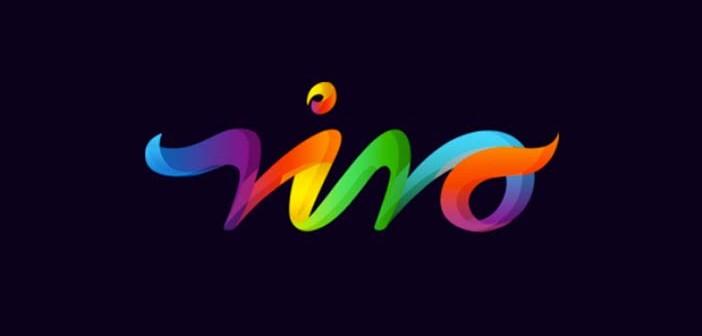 Ejemplos de diseño de logos coloridos: Vivo