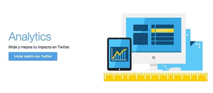 Herramientas de analitica web para Twitter: Twitter Analytics