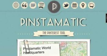 Herramientas de Pinterest Marketing: Pinstamatic