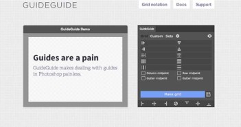 Plugin Photoshop para simplificar tareas: GuideGuide