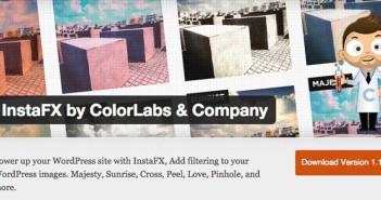 Plugin Wordpress para añadir efectos a imágenes: InstaFX by ColorLabs & Company